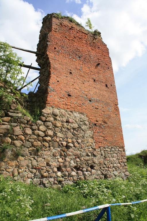Krevo castle, Руины Кревского замка