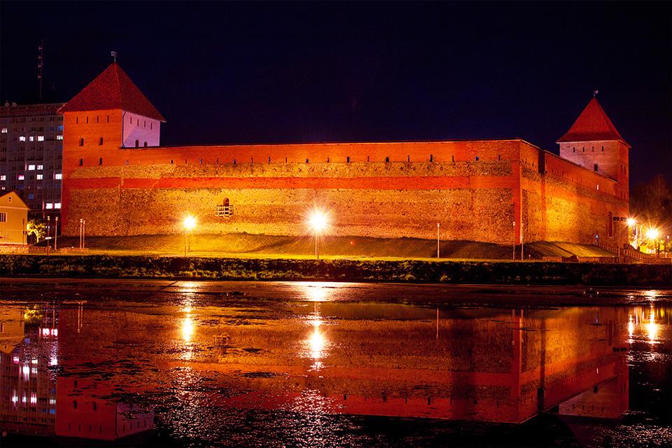 Lida castle (Gediminas Castle) , Лидский замок