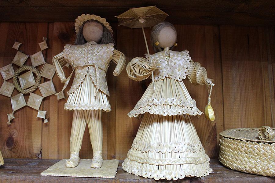 Музей традиционной культуры в Браславе, Куклы из соломы