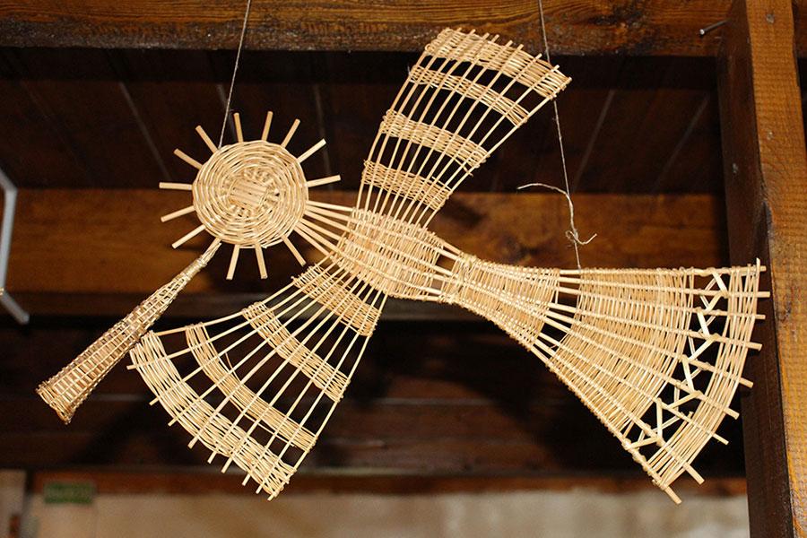 Музей традиционной культуры в Браславе, Поющий жаворонок из соломы