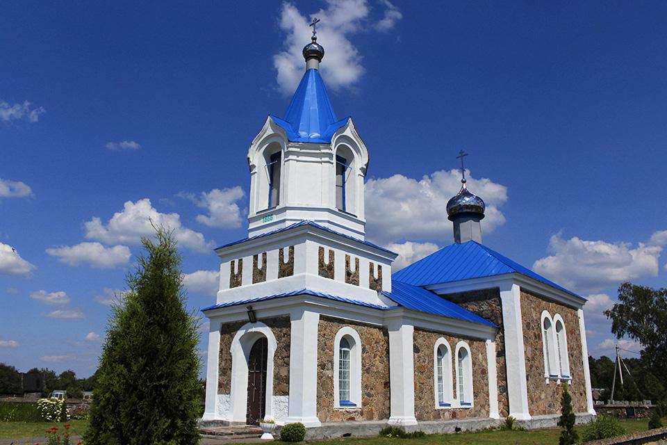 Pokrovskaya Church in Mihnevich, Покровская церковь в Михневичах