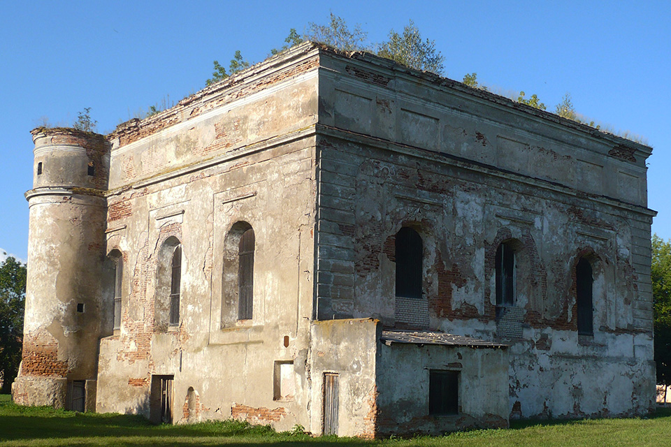 Synagogue in Bykhov, Синагога в Быхове