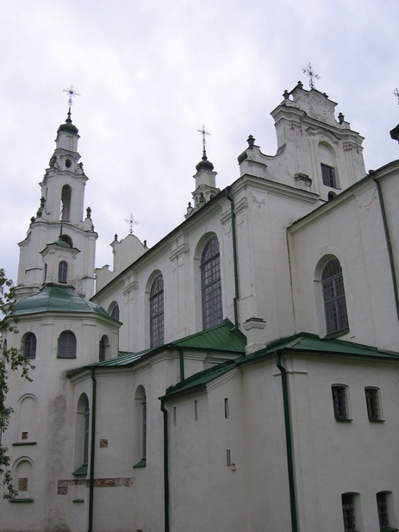 Saint Sophia Cathedral in Polotsk, Софийский собор