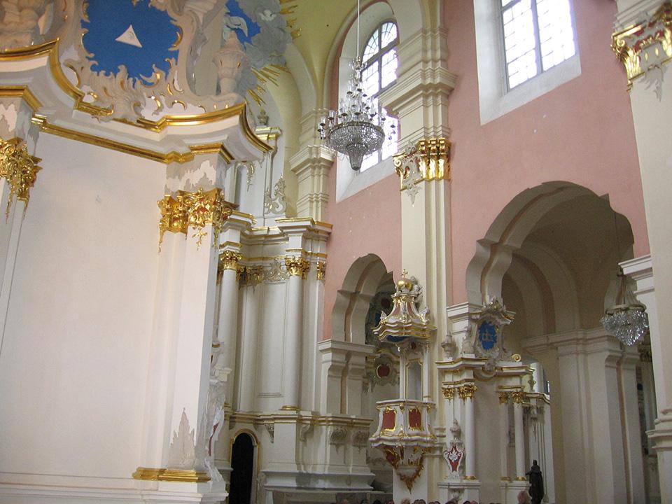 Софийский собор в Полоцке, Софийский собор внутри