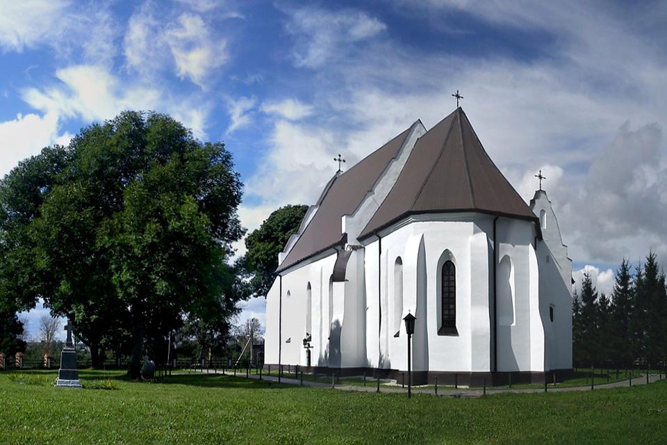 Троицкий костел в Ишкольде, Троицкий костел