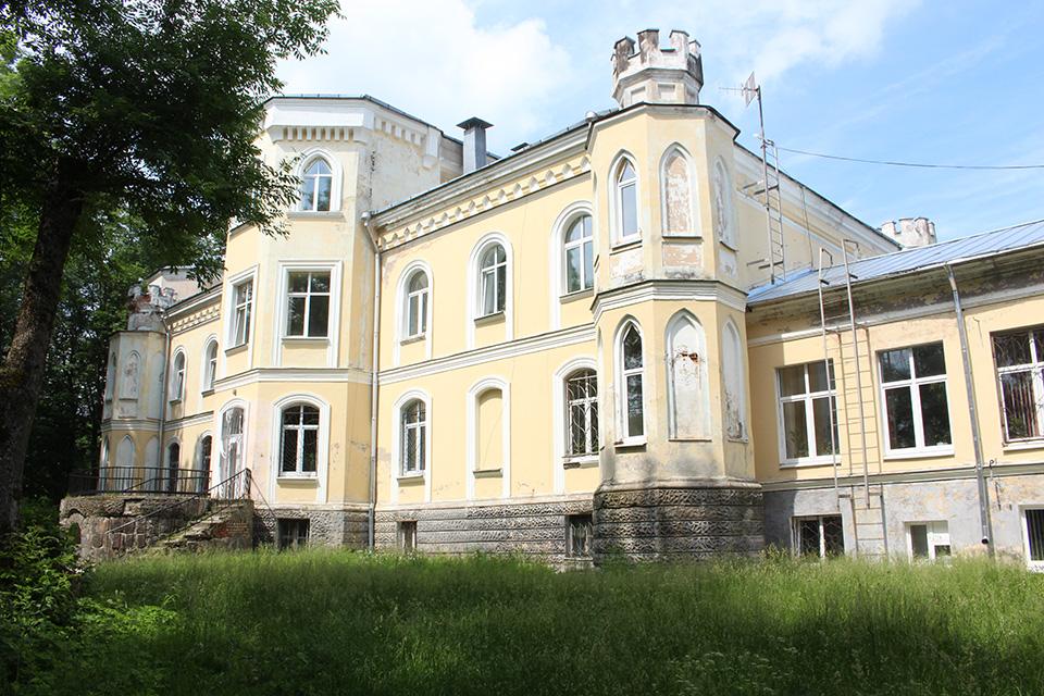 Усадьба Чапских в деревне Прилуки